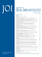 Journal of Oral Implantology